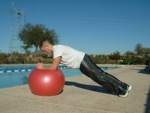 ELBOW PLANK AND PUSHUP