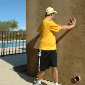 HANDS ON WALL ROTATIONS