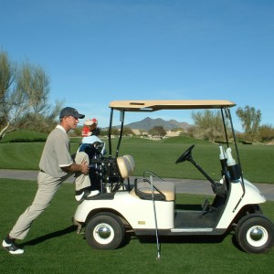 LUNGE WITH CART