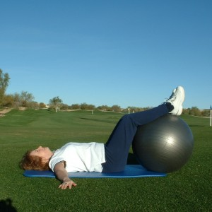 LYING HIP ROTATION STRETCH