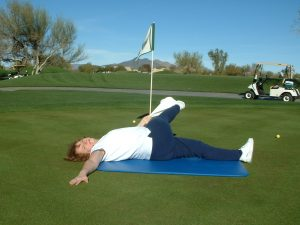 LYING OUTER HIP-LOW BACK
